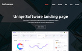 Motyw WordPress Softwarepro - Software landing Page Sass #69455