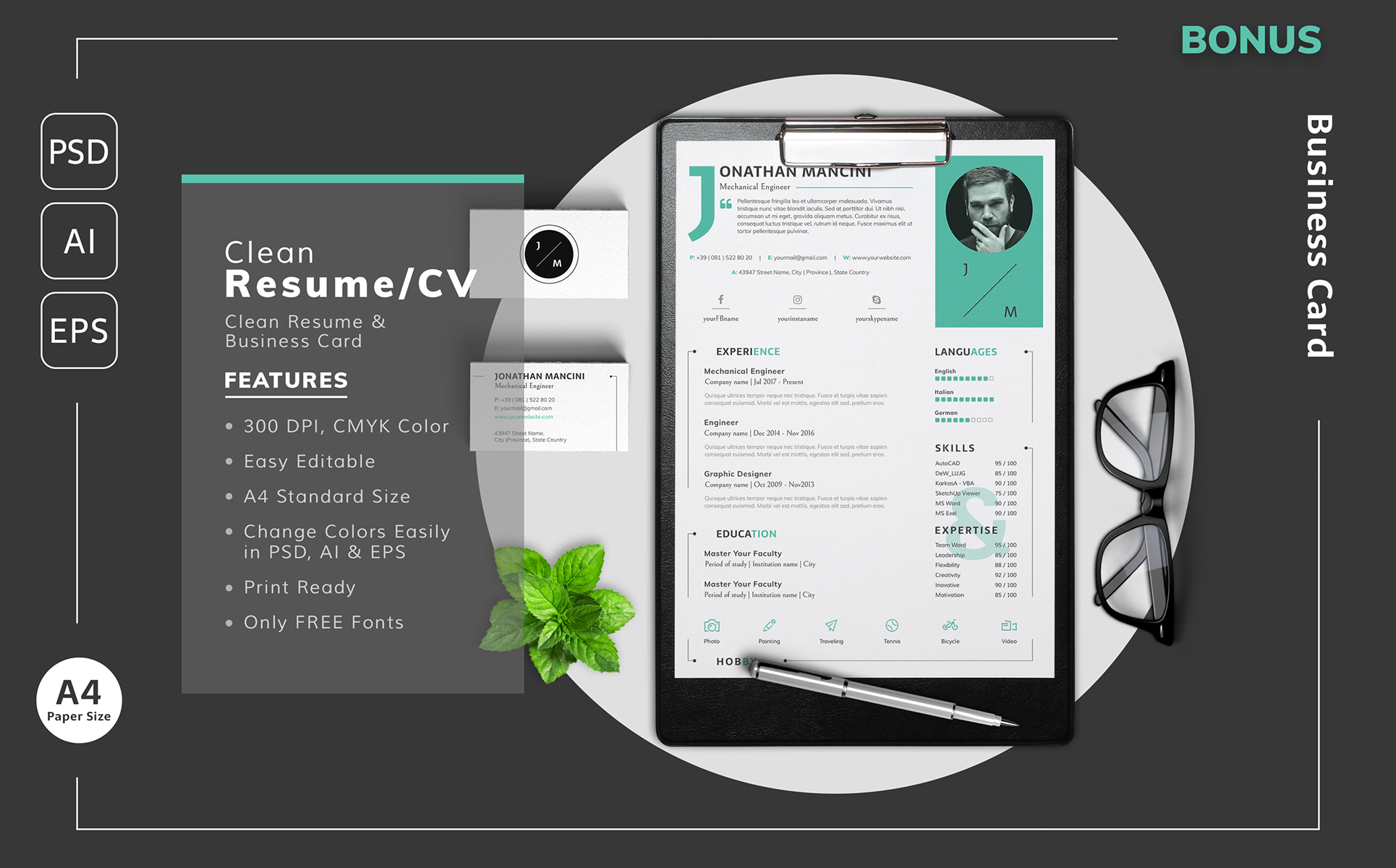 jonathan mancini mechanical engineer resume template resume