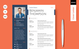 Benjamin Thompson - Multipurpose Elegant Resume Template