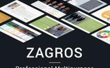 """Šablona pro Keynote """"Zagros"""""""
