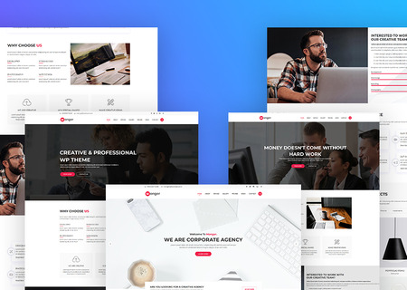 Monger - One Page HTML5