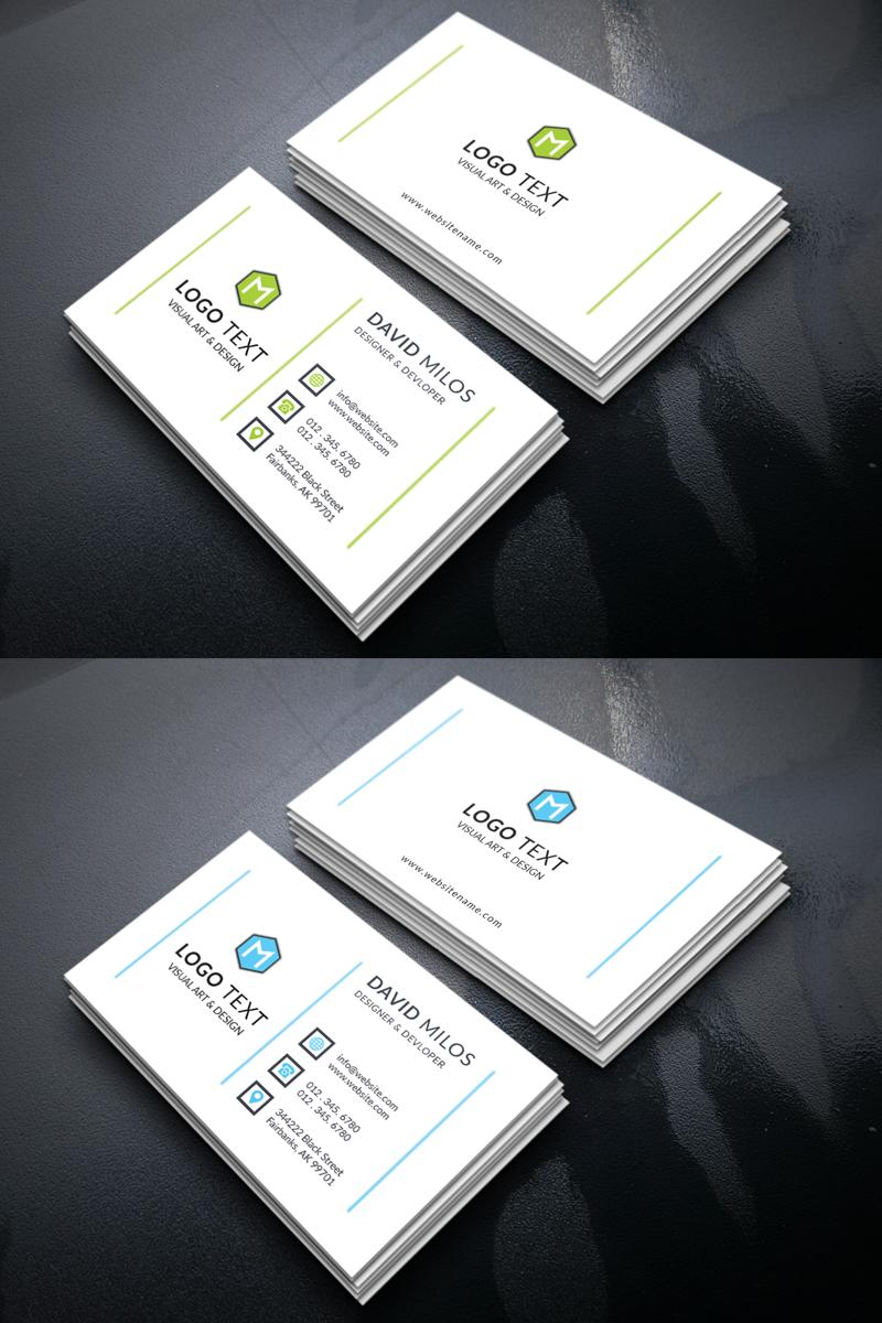 David milos personal business card corporate identity template 69616 david milos personal business card corporate identity template colourmoves