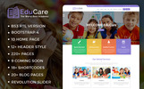 "Website Vorlage namens ""EduCare  -  Education With RTL Ready"""