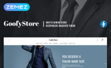 """GloStore - AMP Men's Fashion"" Magento Thema"