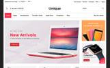 Unique - Electronic & Digital Store Website Template