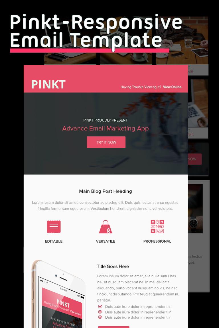 Newsletter Vorlage #65423 für Design und Fotografie