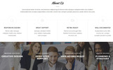 Responsive Landingspagina Template over Web Design