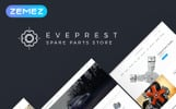 """Eveprest Spare Parts 1.7 - A Better Way Forward"" thème PrestaShop adaptatif"