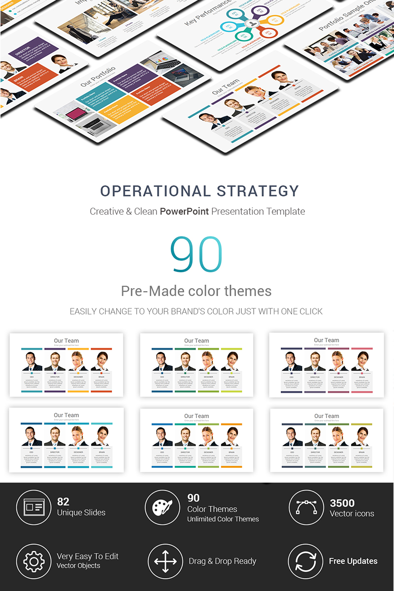 operational strategy powerpoint template 69773