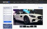 """""""MotorX - Vehicle Marketplace"""" modèle PSD"""