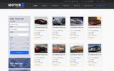 MotorX - Vehicle Marketplace PSD Template